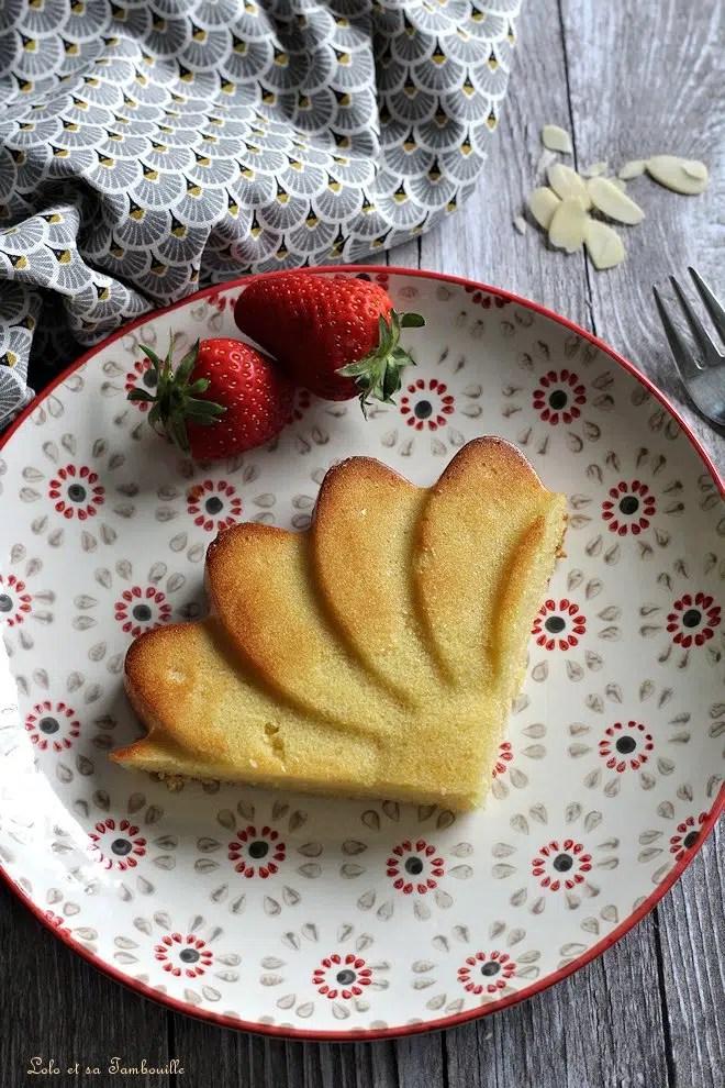 Fondant aux amandes {ou gâteau Maury}