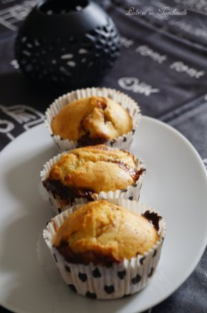 Muffins aux snickers {au lait ribot} (3)