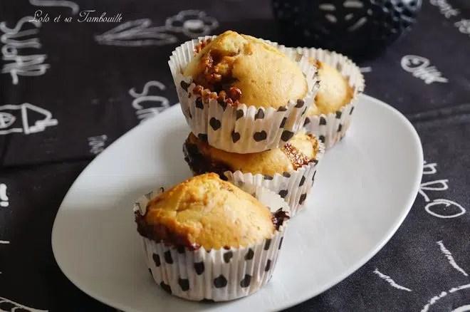Muffins aux snickers {au lait ribot} (6)