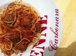 Spaghettis aux boulettes de viande Jenn is cooking