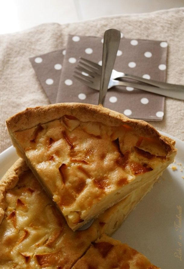 Tarte aux pommes gourmande (4)