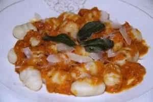 gnocchis sauce méditéranéenne Jackie