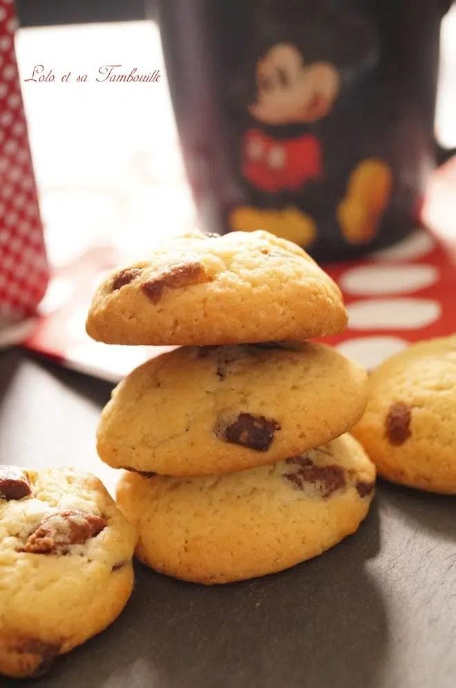 Cookies aux trois chocolats (3)