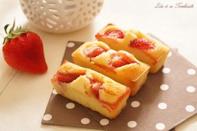 Financiers aux fraises (2)