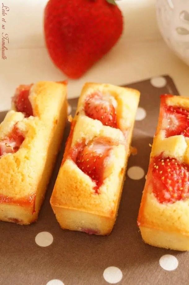 Financiers aux fraises (7)
