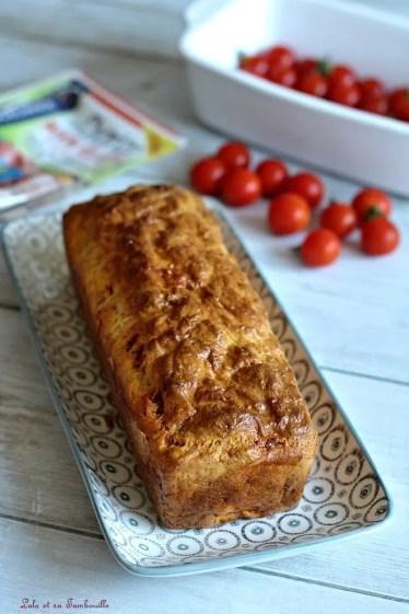 Cake tomates cerises & chorizo (2)