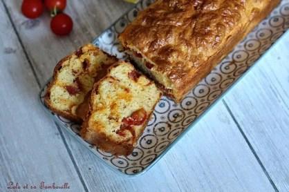 Cake tomates cerises & chorizo (6)