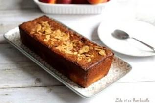 Cake aux abricots & amandes effilées (2)