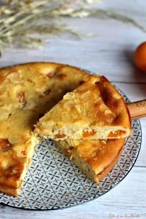 Gâteau amandine aux abricots (4)