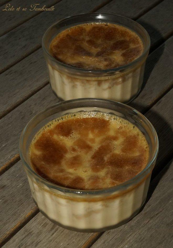 Crèmes aux oeufs aux spéculoos (2)