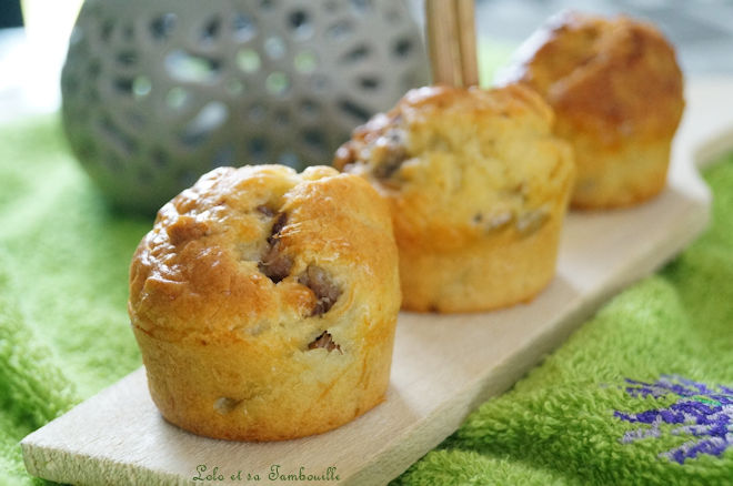 Mini cakes aux anchois