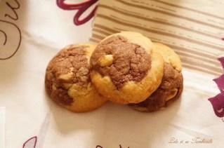 Cookies bicolores aux cacahuètes (8)