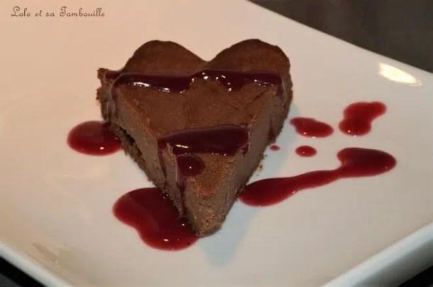 Fondant au chocolat & ricotta