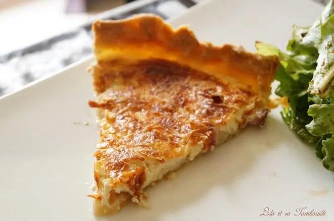 Quiche Lorraine {recette du CAP cuisine}