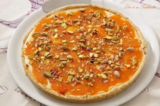 Tarte aux abricots & chocolat blanc {pâte sablée aux spéculoos (3)