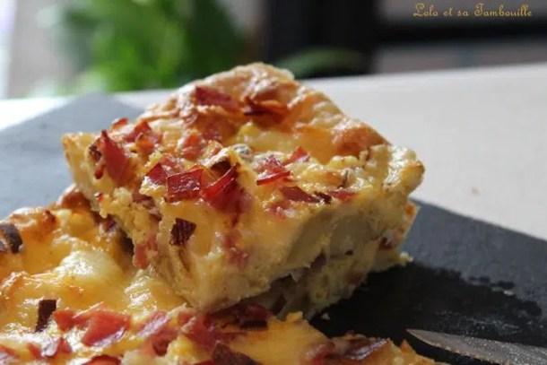 Tortilla de pommes de terre & raclette