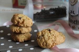 Biscuits aux pépites de chocolat & nougatine {aux jaunes d'oeufs} (1)