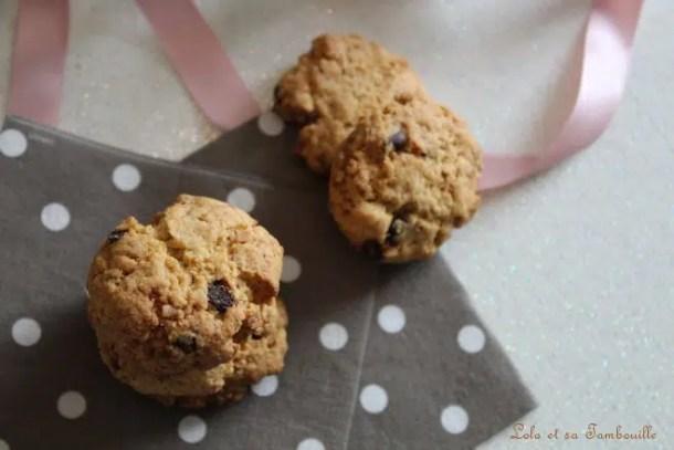 Biscuits aux pépites {aux jaunes d'œufs}