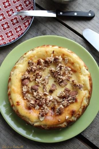 Cheesecake aux amandes caramélisées (3)