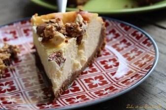 Cheesecake aux amandes caramélisées (7)
