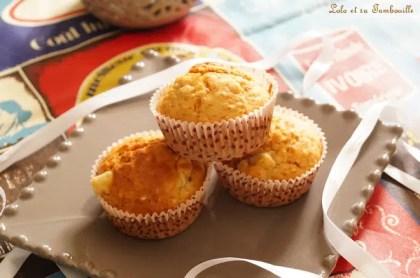 Muffins auxflocons d'avoine & poires (3)