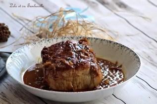 Rôti de porc au miel & oignons (1)