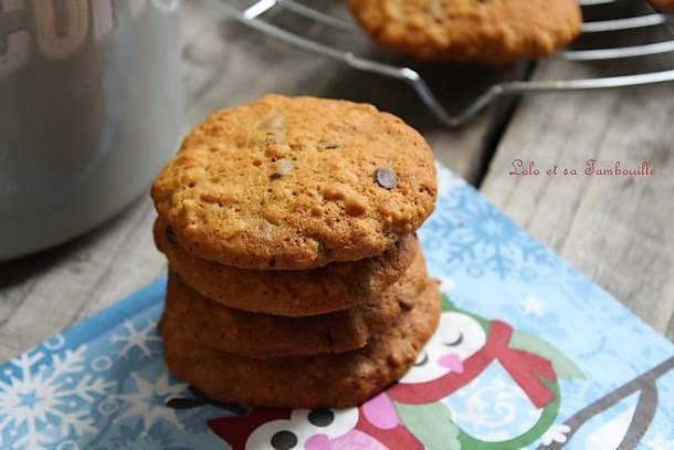 Cookies made in US {pralinoise & chocolat}
