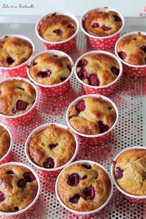 Muffins framboises & citron (6)