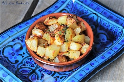 Batata Harra {pommes de terre épicées Libanaises} (2)