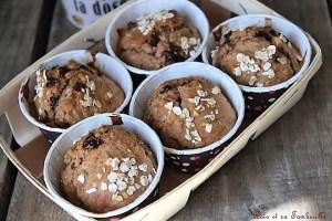 Muffins de petit déjeuner