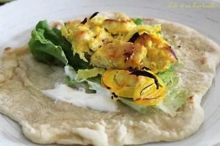 Poulet au safran & citron {Joojeh Kabab} (1)