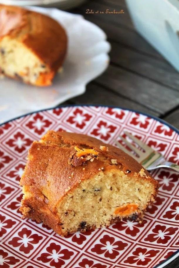 Gâteau au yaourt Grec, abricots & huile d'olive