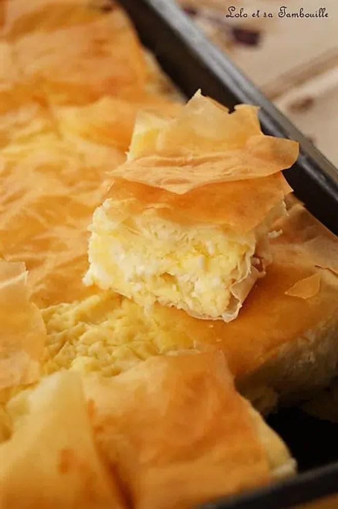 Tyropita {ou Pita au fromage}