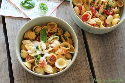 Pâtes aux tomates rôties (6)