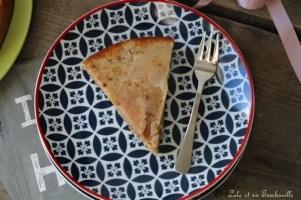 Gâteau aux poires & noisettes {au lait ribot} (1)