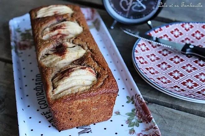 Cake à la compote de pommes