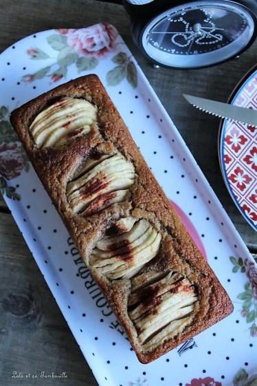 Cake à la compote & pomme (3)