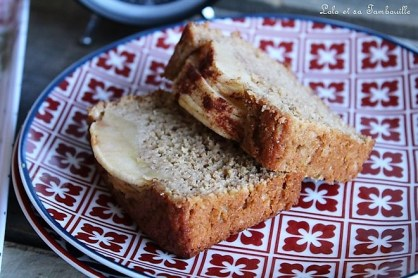 Cake à la compote & pomme (7)