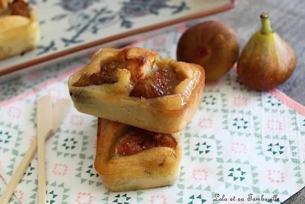 Cakes aux figues & comté