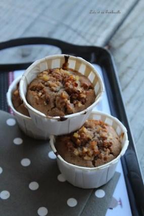 Muffins à la farine de chataignes & pommes (3)