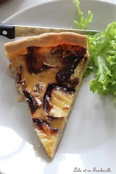 Quiche au camembert & miel (6)