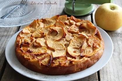 Gâteau invisible aux pommes (2)
