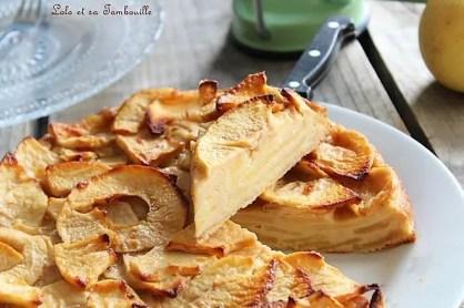 Gâteau invisible aux pommes (7)