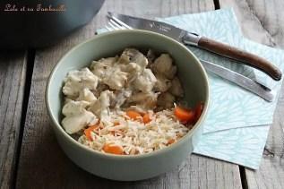 Sauté de dinde aux champignons (2)