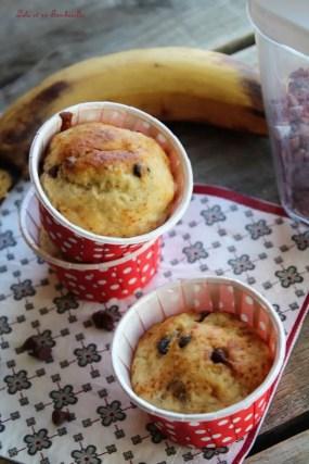 Muffins allégés bananes...