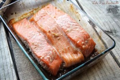 Saumon glacé au sirop d'érable (4)