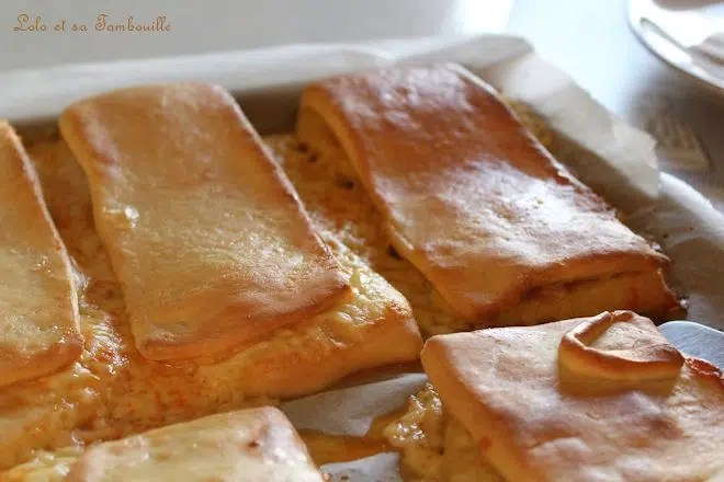 Lanches Portugaises {chorizo & tomme}