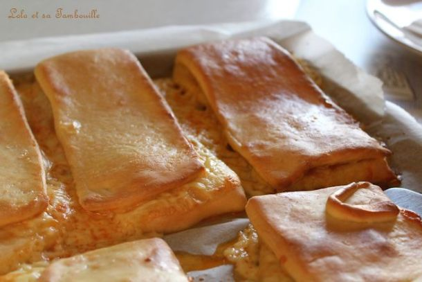 Lanches Portugaises {chorizo & tomme}
