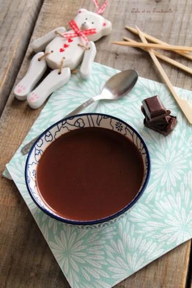 Sauce au chocolat Démoniak {de Christophe Michalak} (2)
