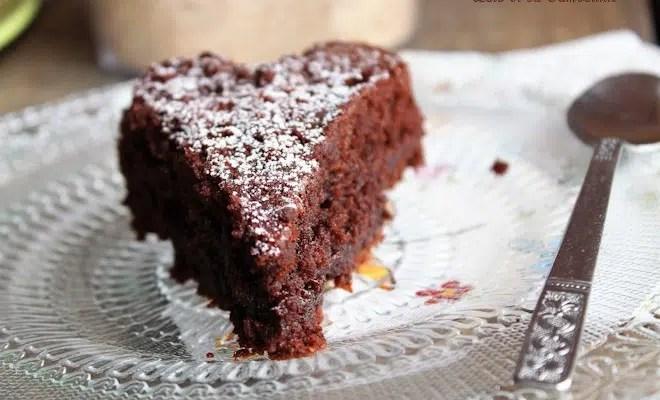 Fondant au chocolat & noisettes